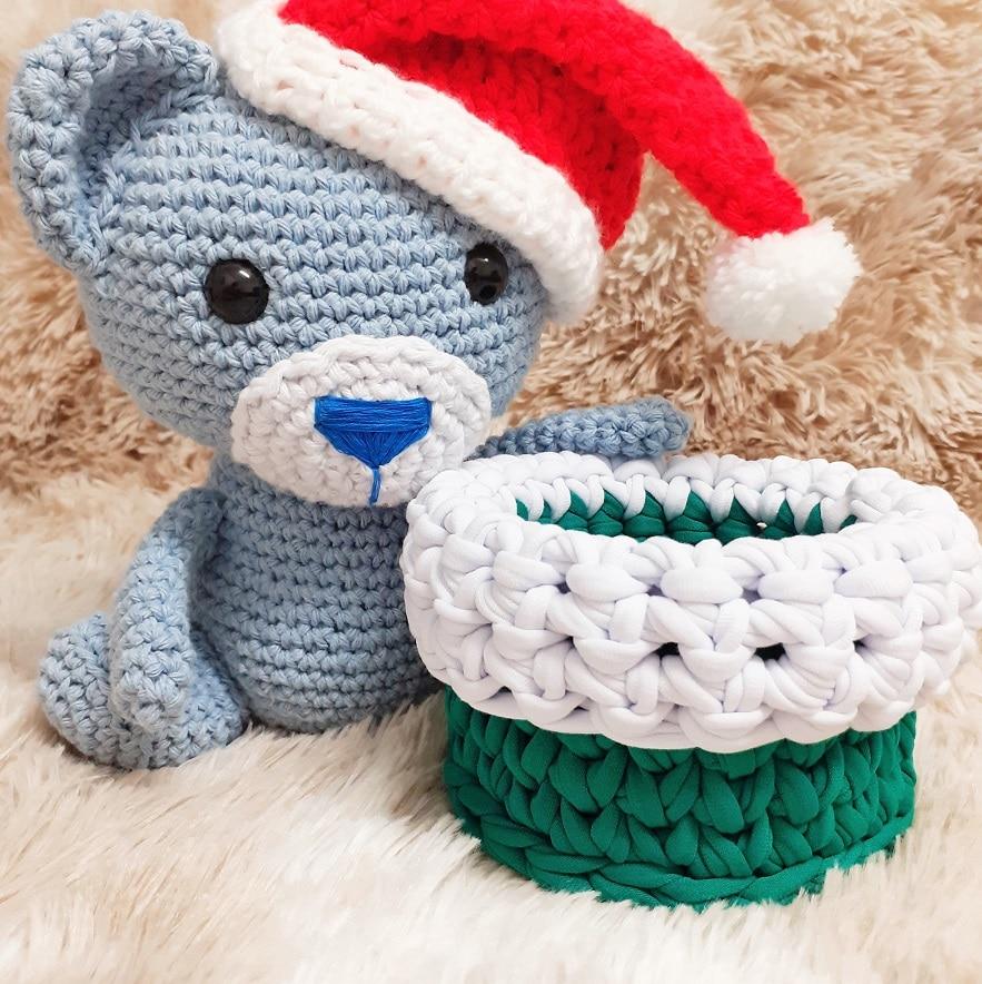 3 ideias fáceis de crochê para o Natal